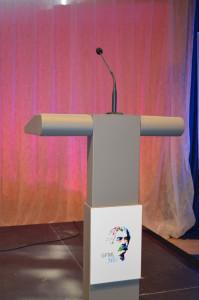 mikrofon za govorniški pult